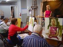 Markos Artist Painting