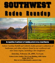 The Invitation for the Southwest Rodeo Roundup