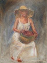 Woman W Basket wip 1
