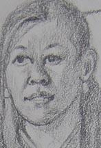 Lisa Sketch detail