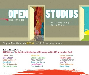 Open Studios - May 17, 2014
