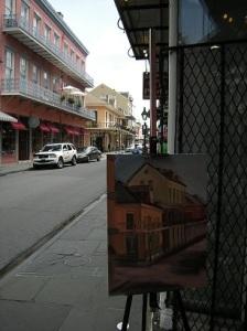 "Creating ""Royal Street II"", Lilibeth Andre"
