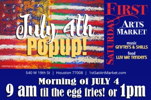 First Saturday Arts Market - Fourth of July Popup