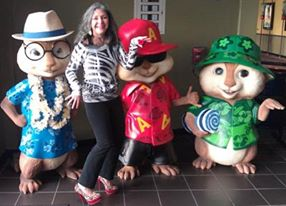 Dancing with Alvin and the Chipmunks