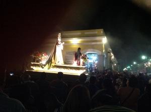 The procession.