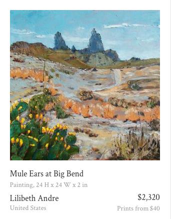 Mule Ears-Saatchi